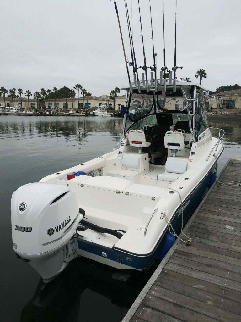 Gear onboard Boundless Boat Charters